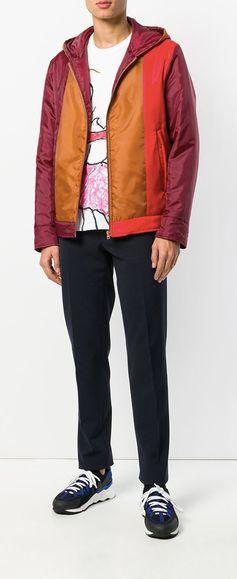 Marni Hooded Colourblock Jacket