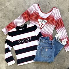 The latest GUESS Originals drop, just released online and in-stores