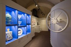 #1927ReturnToItaly - Room 5 from the new exhibition at the Ferragamo Museum in Florence.