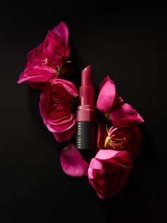 Lipstick Trends: Bobbi Brown Crushed Lip Color in Cali Rose #LipCrush: A velvety-soft, semi-matte formula that barely feels like it's on your mouth  Makeup and product photography