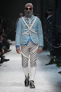 Moncler Gamme Bleu Fall-Winter 2017/18 Show #MonclerGammeBleu