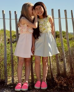 The sun shines over our New Summer Collection! #Bonpoint #GirlsDress