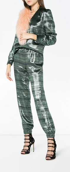 Haney Track Striped Trousers