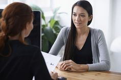 Career advice for talking about unemployment during an interview.