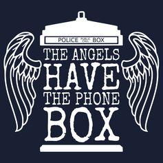 Angels Have The Phone Box - Unisex tshirt, Medium