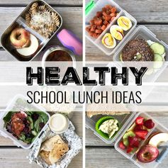 Healthy School Lunch Ideas (Roundup 15!)