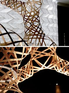AntiStatics Architecture has designed a bamboo tower installation called