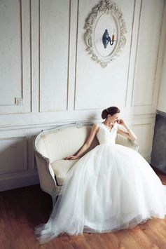 [DRESS:CAROLINA HERRERA Chloe] weddingdress weddingday white princess