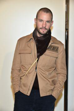 Dan Thawley at the Fendi Men's Fall/Winter 2018-19 Fashion Show