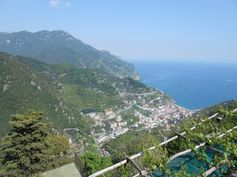 View of Minori from Ravello