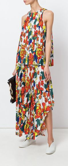 Pringle of Scotland sun-ray Pleated Skirt