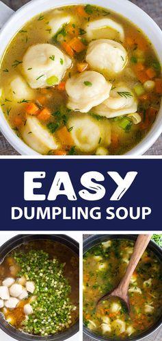 Dumpling (Pelmeni) Soup - Momsdish