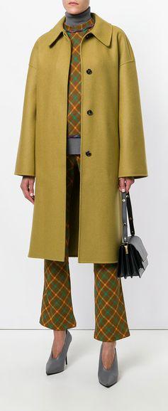 MARNI collared buttoned coat, explore new season Marni on Farfetch now.