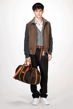Louis Vuitton Men's Fall-Winter 2017 Collection by Kim Jones - Look 6