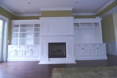 Custom Built-in Painted Cabinetry | Custom Cabinets | peaslee design