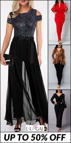 Huge selections for classy and fashion #jumpsuit for women, #freeshipping worldwide and easy returns. Click to find your favorite in #liligal.