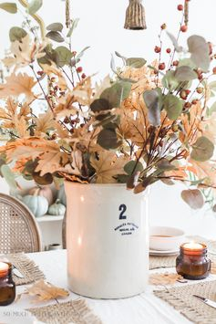 Nostalgic Fall Decorating + Video   So Much Better With Age
