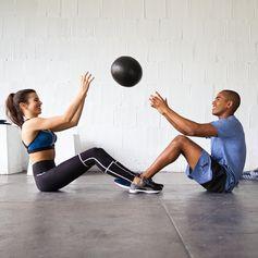 Workout buddy goals.