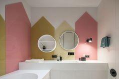 salle de bain petite fille nuances pastel #interiors #furniture