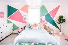 Miami Inspired Toddler Bedroom - Project Nursery
