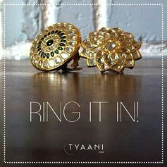 With the right jewellery, you can conquer the world! Put your best foot forward this week with Polki Jewellery from Tyaani.com http://bit.ly/2mzV5XO http://bit.ly/2DyVEcs  #Tyaani #EverydayPolki