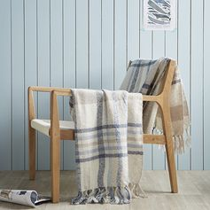 Plaid tartan #inspiration #décoration #tendance #zodio #maritime