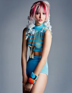 Fendi spotted in Vogue, Japan, July 17.  Grace Elizabeth photographed by Patrick Demarchelier