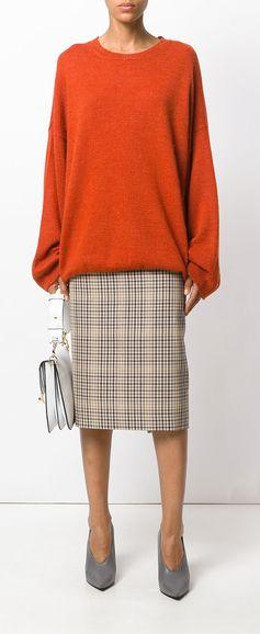 STELLA MCCARTNEY oversized jumper, explore new season knitwear on Farfetch now.