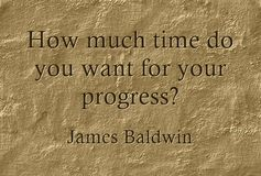 How much time do you want for your progress?