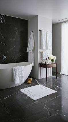 H&M HOME | Bring that spa-feeling to your bathroom with soft organic cotton towels, modern glass vases and heavenly fragrance sticks. Bliss!