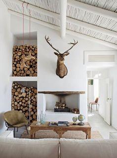 20 idées intéressantes pour stocker un peu de bois dans la maison! Inspirez-vous