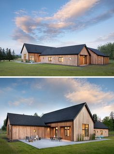 This House In Rural Montana Is Covered In Cedar Siding