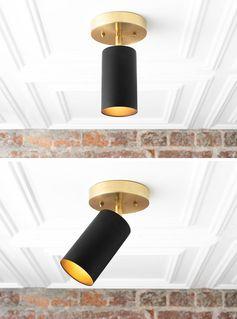 Lighting Ideas – Matte Black Directional Lighting by Mod Creation