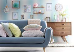 Ambiance pastel #décoration #zodio #ambiance #pastel #salon #tendance