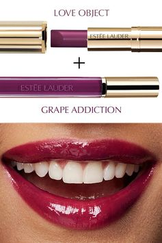 Get glazing with Pure Color Love in Love Object and Grape Addiction.
