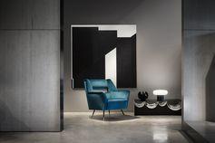 Ile armchair, Gigi Radice design / Minotti Historic Archive. #minotti70 #armchair #2018collection #heritage