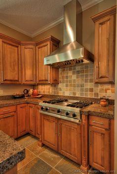 Tuscan Kitchen Design #29 (Kitchen-Design-Ideas.org)