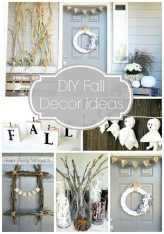 DIY Fall Decor Ideas @Taryn H H {Design, Dining + Diapers}