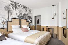 Романтичный отель в Париже