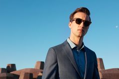 Leader in the style arena, Marcel Floruss is on the look-out in Cape Town in the new BOSS eyewear campaign