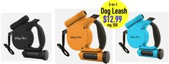 Tanga: Unique Petz 3-in-1 Retractable Leash = $12.99 + FREE Shipping! Regularly $29.99!