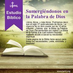 Estudios Bíblicos de la Revista de la Liga Misionera de Damas Luteranas. Gratis para uso personal y en grupo.