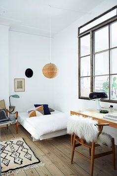 Beautiful bedroom from my book The Scandinavian Home