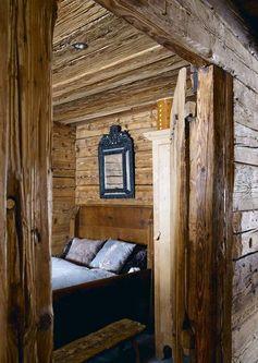 Cette chambre d'enfant reste dans le thème montagne.