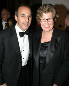 Matt Lauer & Frances Cassidy. The American Australian Association Benefit Dinner.