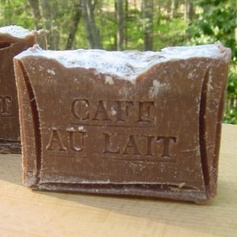 French Cafe au Lait With Cocoa Butter Soap (Handmade Soap) French Coffee