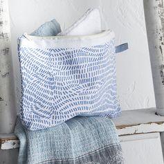 Pochette en coton imprimé grèce