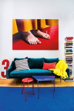 bold primary colors