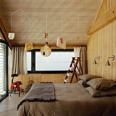 Une chambre design entre authenticité et modernité