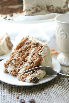 Looking for the perfect Carrot Cake recipe? This is the real deal! Southern Style Carrot Cake is the only way to go! Southern Style Carrot Cake - Amy in the Kitchen
